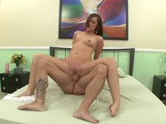 Lily Carter spreads her legs of horniness